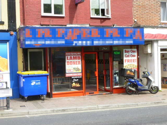Well Equipped Pizza, Kebabs, Chicken Takeaway and Delivery, Hampshire For Sale