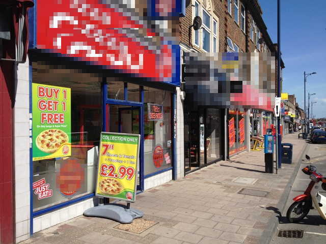 Fully Equipped Pizza Takeaway and Delivery in Kent for sale