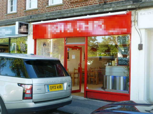 Well Equipped Takeaway Fish and Chips Plus Restaurant Area, Surrey for sale