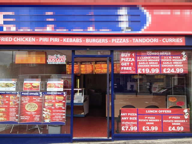 Pizzas, Chicken, Doner Kebabs, Burgers and Chips We Understand Closed In November, 2013, However, In Our Opinion offering Terrific Potential For Development In The Right Hands We Understand The Premises Have A3 / A5 Use in Hertfordshire for sale