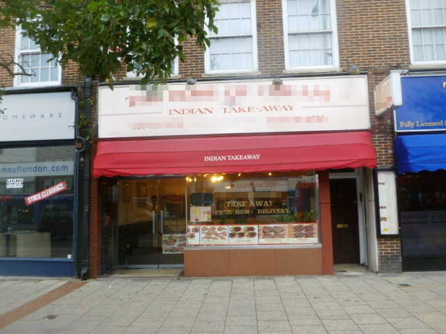 Old Established Well Equipped Indian Hot Food Takeaway and Delivery, Surrey for sale