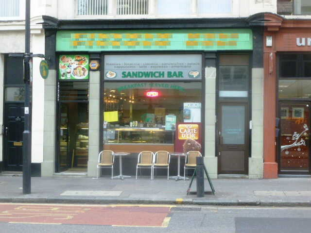 Profitable Sandwich Bar / Delicatessen, Central London for sale