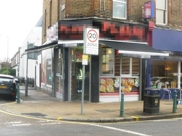 Well Fitted Chicken and Pizza Shop with Small Seating Area in South London for sale