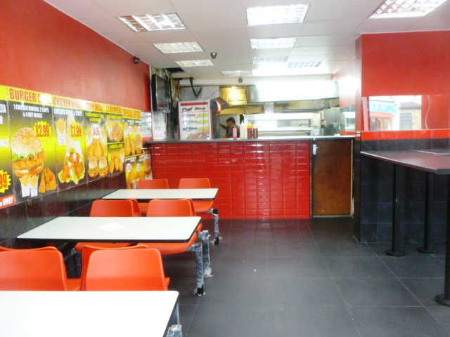 Well Fitted Pizza, Fried Chicken, Kebabs Takeaway and Delivery Plus Seating Area Plus Rear Coffee / Shisha Shop for sale in Hackney Central, East London for sale