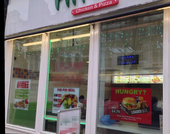 Piri Piri Chicken Shop and Pizza Takeaway for sale in East Sussex