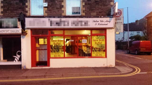 Well Established Licensed Indian Restaurant, South Wales for sale