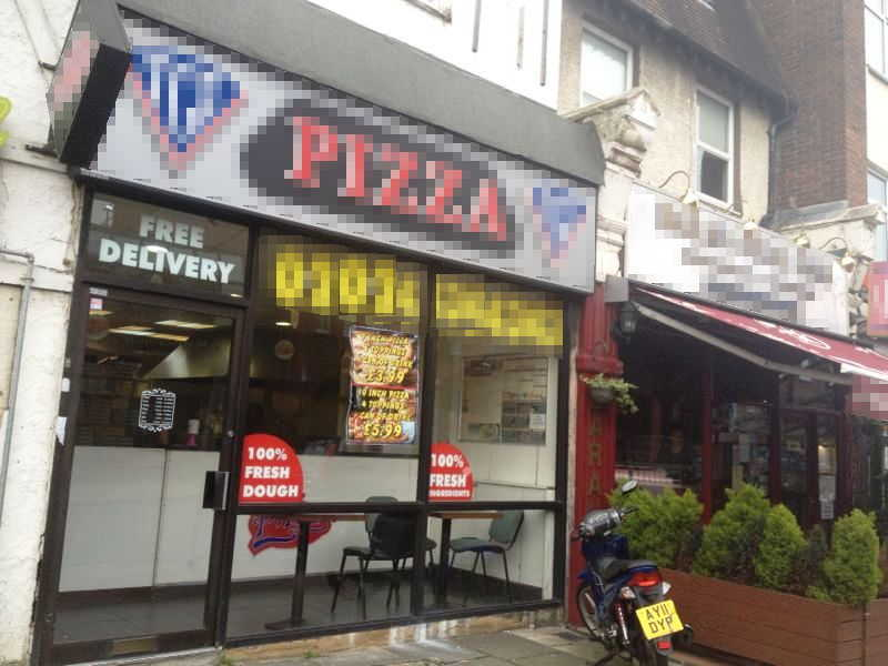 Fully Fitted Pizza Takeaway and Delivery, North London for sale