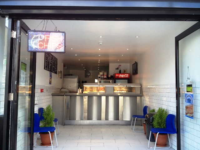 Superbly Newly Fitted Takeaway Fish and Chips Plus Chicken Burgers, North London For Sale