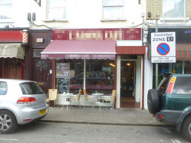 Coffee Shop, South London for sale
