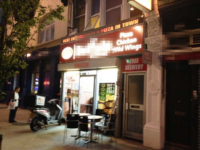 Fully Equipped Pizza and Chicken Shop, East London for sale