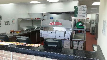 Superbly  Fitted Papa Johns Pizza Takeaway and Delivery for sale in Bristol for sale