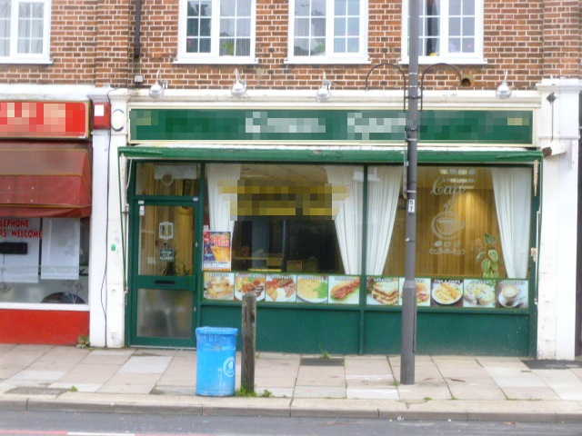 Spacious Well Equipped Caf�, South London for sale