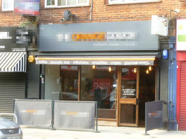 Attractive and Spacious Coffee Shop, Teas, Coffees, Milkshakes, Crepes, Wraps, Sandwiches, Paninis Etc, Middlesex for sale