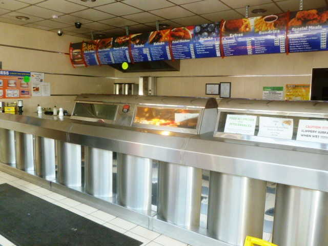 Spacious Single Fronted Modern Takeaway Fish and Chip Shop for sale in Swadlincote, Derbyshire for sale