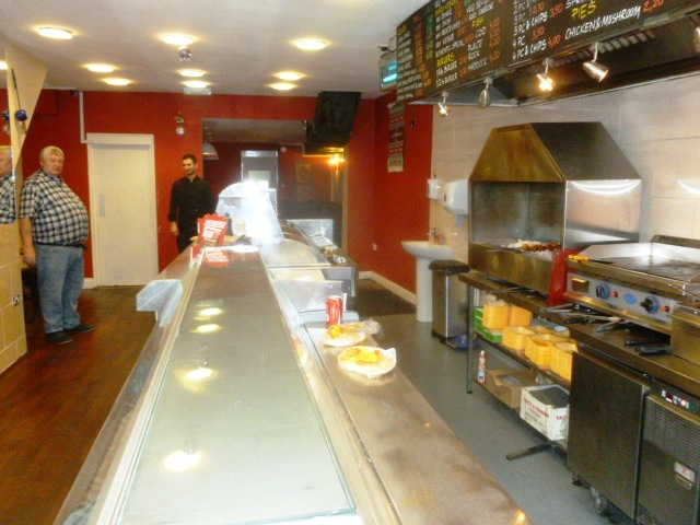 Well Fitted Kebabs, Fish and Chips Takeaway and Delivery Plus Seating Area for sale in Brockley for sale