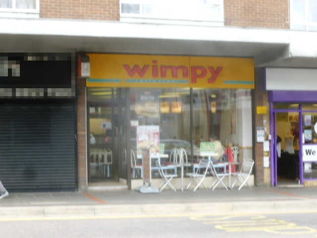 Wimpy Restaurant in Hertfordshire For Sale