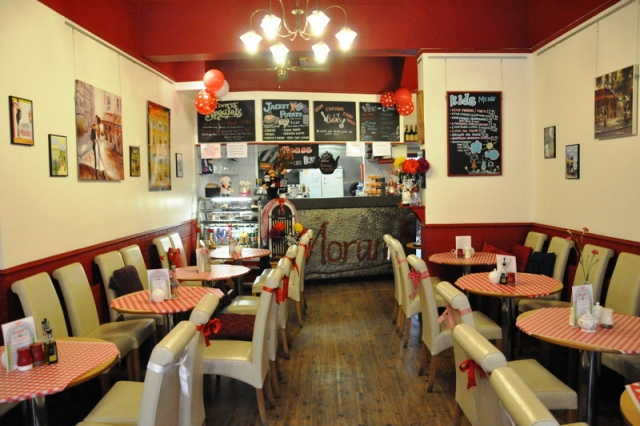 Fully Equipped Licensed Caf� / Restaurant (Catering For Breakfasts, Lunches, Snacks, Afternoon Teas, Teas and Coffee Etc) for sale in Northampton, Northamptonshire for sale