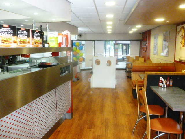 WIMPY Fast Food Restaurant in Basildon For Sale