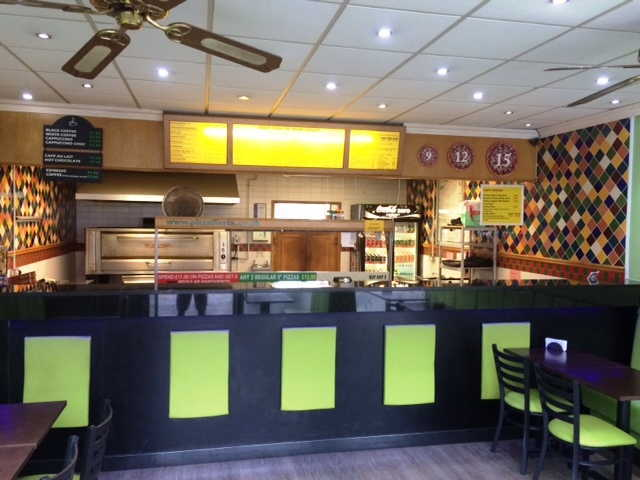 Well Established Pizza Takeaway and Delivery Plus Seating Area for sale in Malvern, Worcestershire for sale