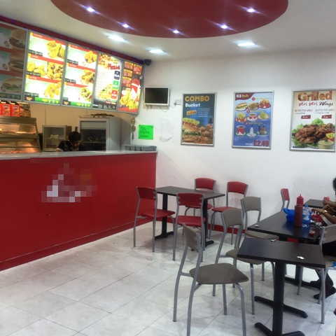 Fully Equipped Takeaway Chicken, Pizzas and Chips Plus Restaurant Area for sale in West London for sale