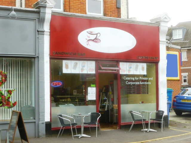 Sandwich Bar and Coffee Shop in Hampshire For Sale