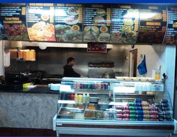 Kebabs, Indian Takeaway and Chicken Shop in North London For Sale