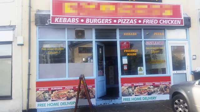 Kebab & Pizza Shop in Somerset For Sale