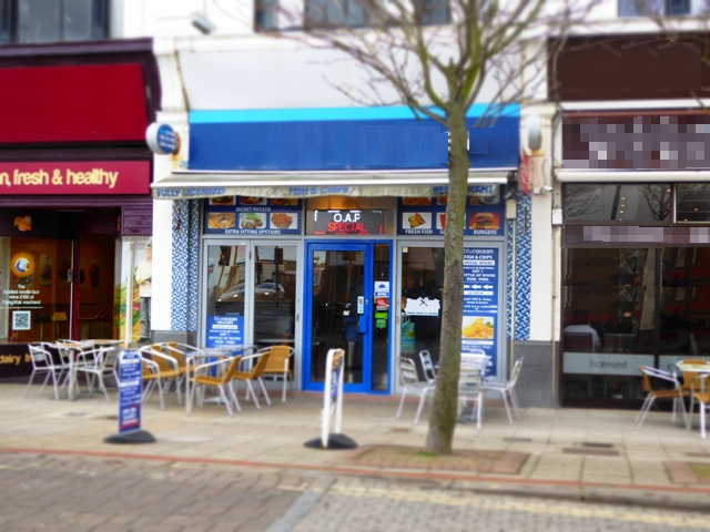 Fish & Chip Restaurant & Takeaway in West Sussex For Sale