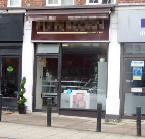 Sandwich Bar in Hertfordshire For Sale