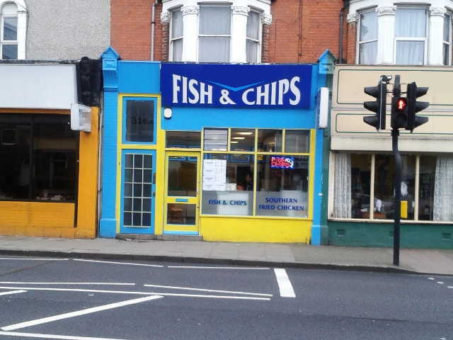 Fish & Chip Takeaway in South London For Sale