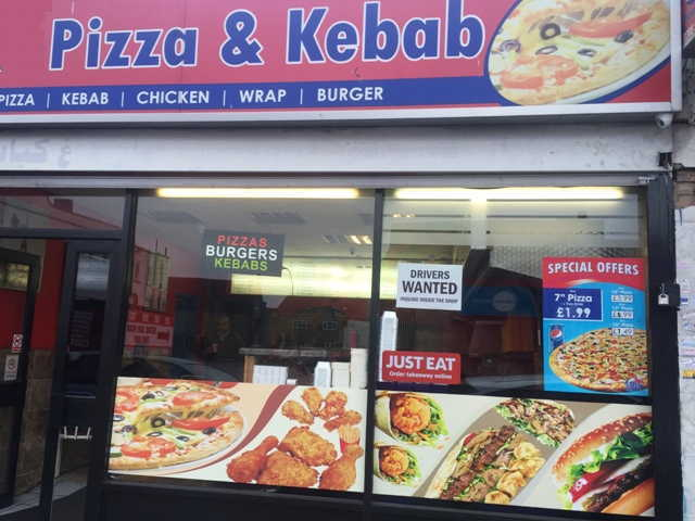 Chicken Shop, Pizza Takeaway and Kebab Shop in Essex For Sale