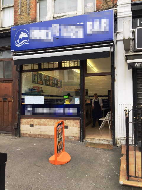 Fish & Chip Shop in North London For Sale