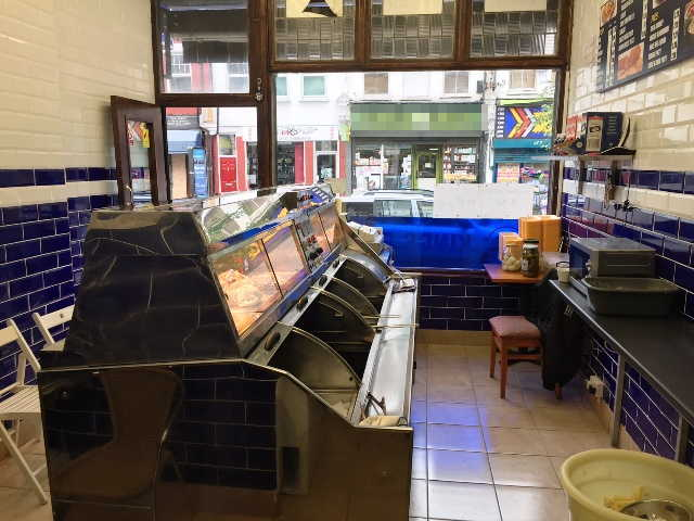 Fish & Chip Shop in Stoke Newington For Sale