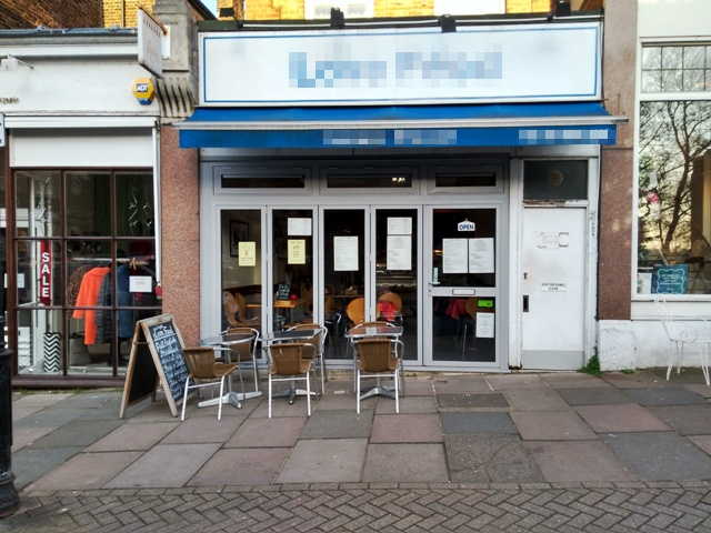 Cafe and Sandwich Bar in South London For Sale