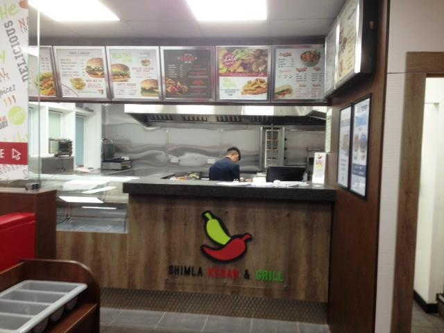 Kebab and Indian Takeaway Restaurant in Worcester For Sale