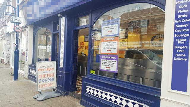 Fish, Chip and Kebab Shop in Cambridgeshire For Sale