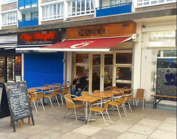 Cafe Restaurant in Central London For Sale