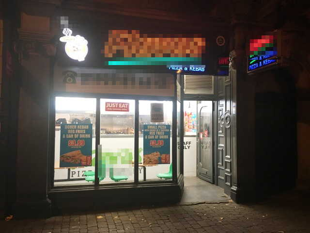 Pizza & Kebab Shop in West Midlands For Sale