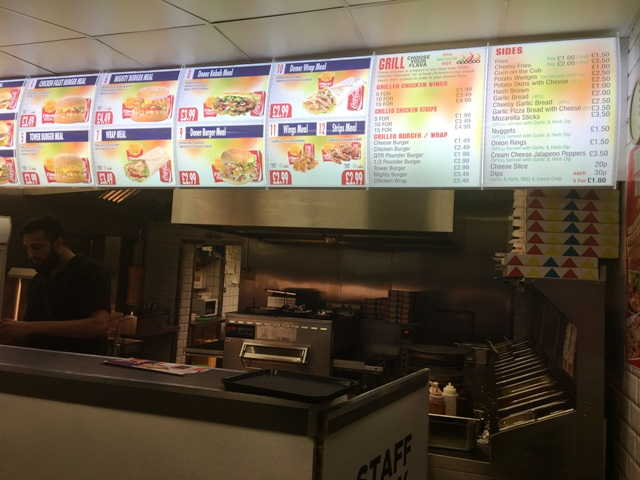 Pizza & Kebab Shop in Walsall For Sale