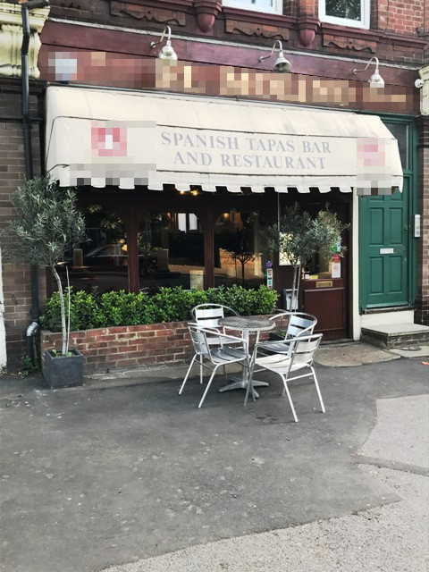 Spanish Tapas Bar in Kent For Sale