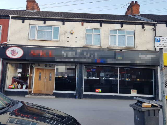 Indian Restaurant in Lincolnshire For Sale