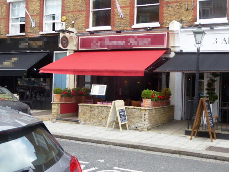 French Restaurant in South London For Sale