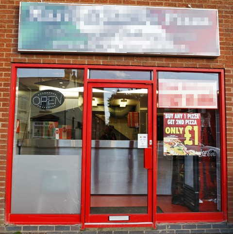 Pizza Shop in Worcestershire For Sale