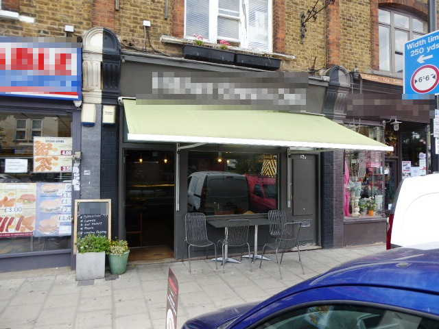Sandwich Coffee Bar in South London For Sale