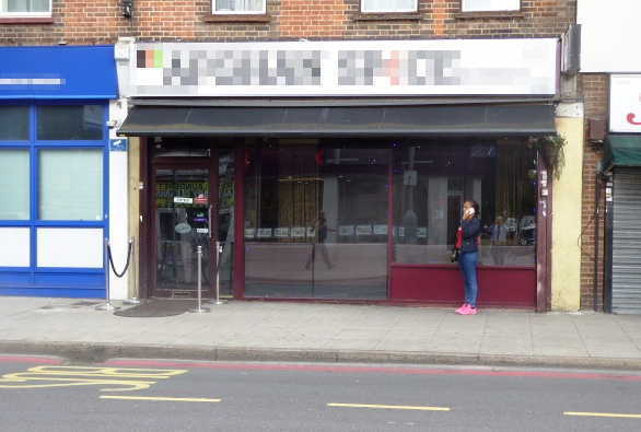 Afghan Restaurant in South London For Sale
