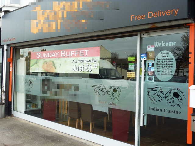 Indian Restaurant in East London For Sale