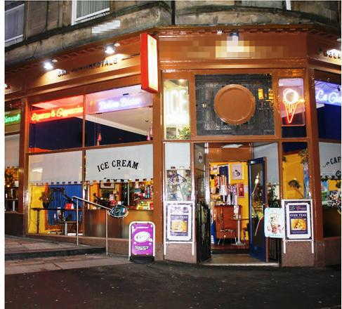 Italian Restaurant, Bar and Ice Cream Parlour in Scotland For Sale