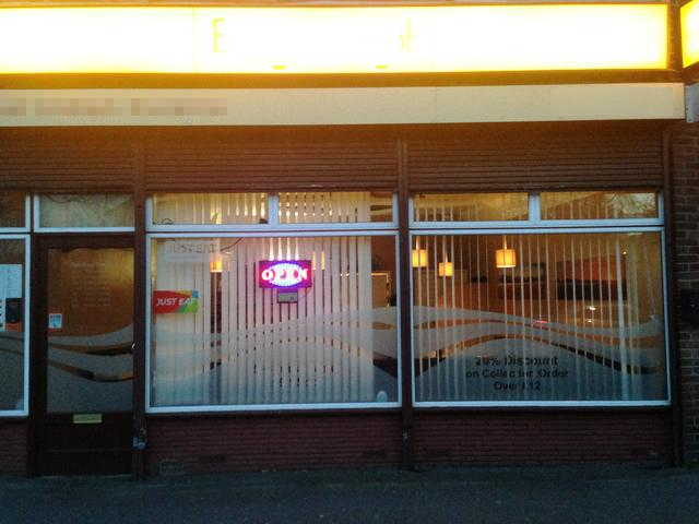 Indian Takeaway with some seating in Hertfordshire For Sale