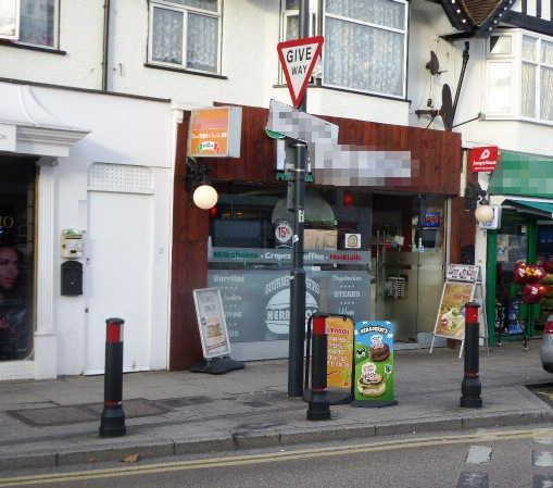 Fast Food Restaurant in Middlesex For Sale
