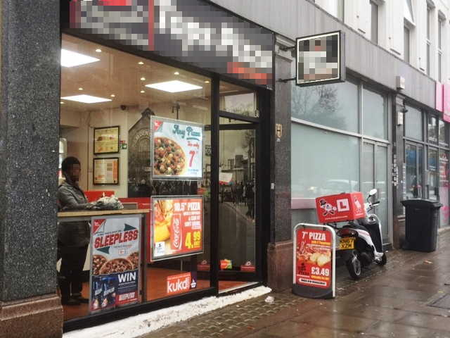 Pizza & Chicken Shop in North London For Sale